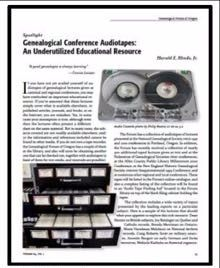 Audiotape Collection