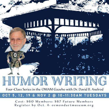 Humor Writing 4-Class Series