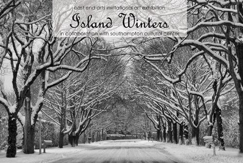 East End Arts Invitational Art Exhibition ISLAND WINTERS (posted December 2, 2016)