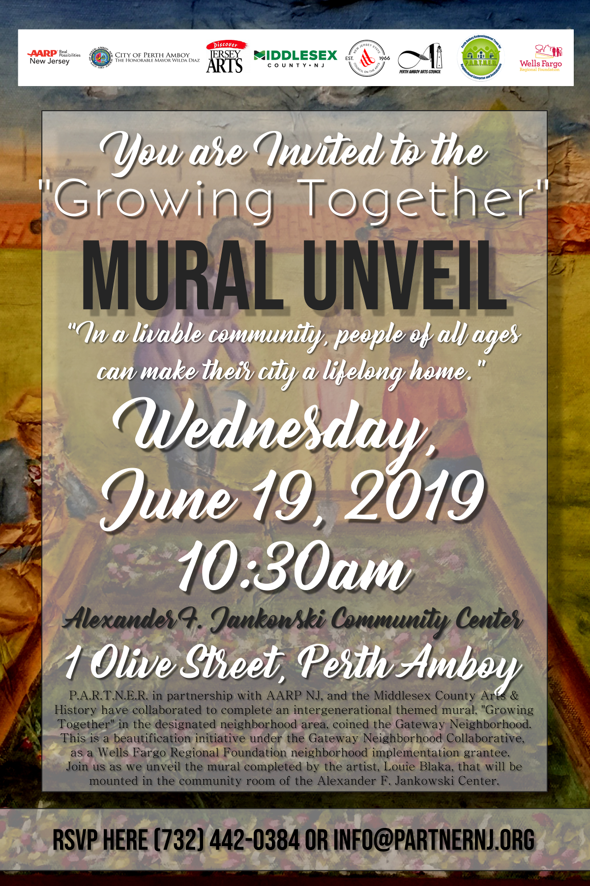 """Growing Together"" Mural Unveil"