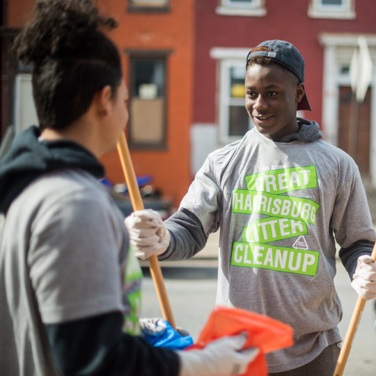 Engage residents in the revitalization of their neighborhoods