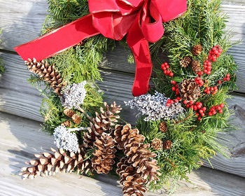 Holiday Wreath Sale & Open House