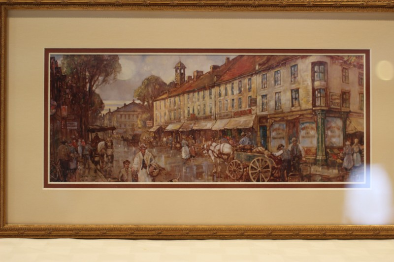 Leslie Cope framed print - Donated by Richard & Joanna Duncan