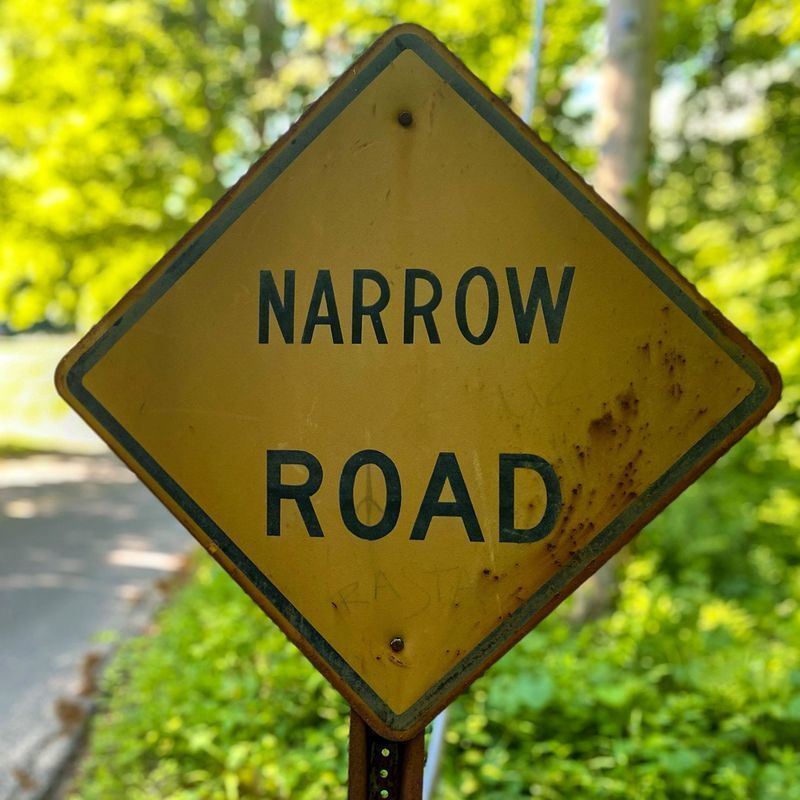 The narrow road that leads to Christ