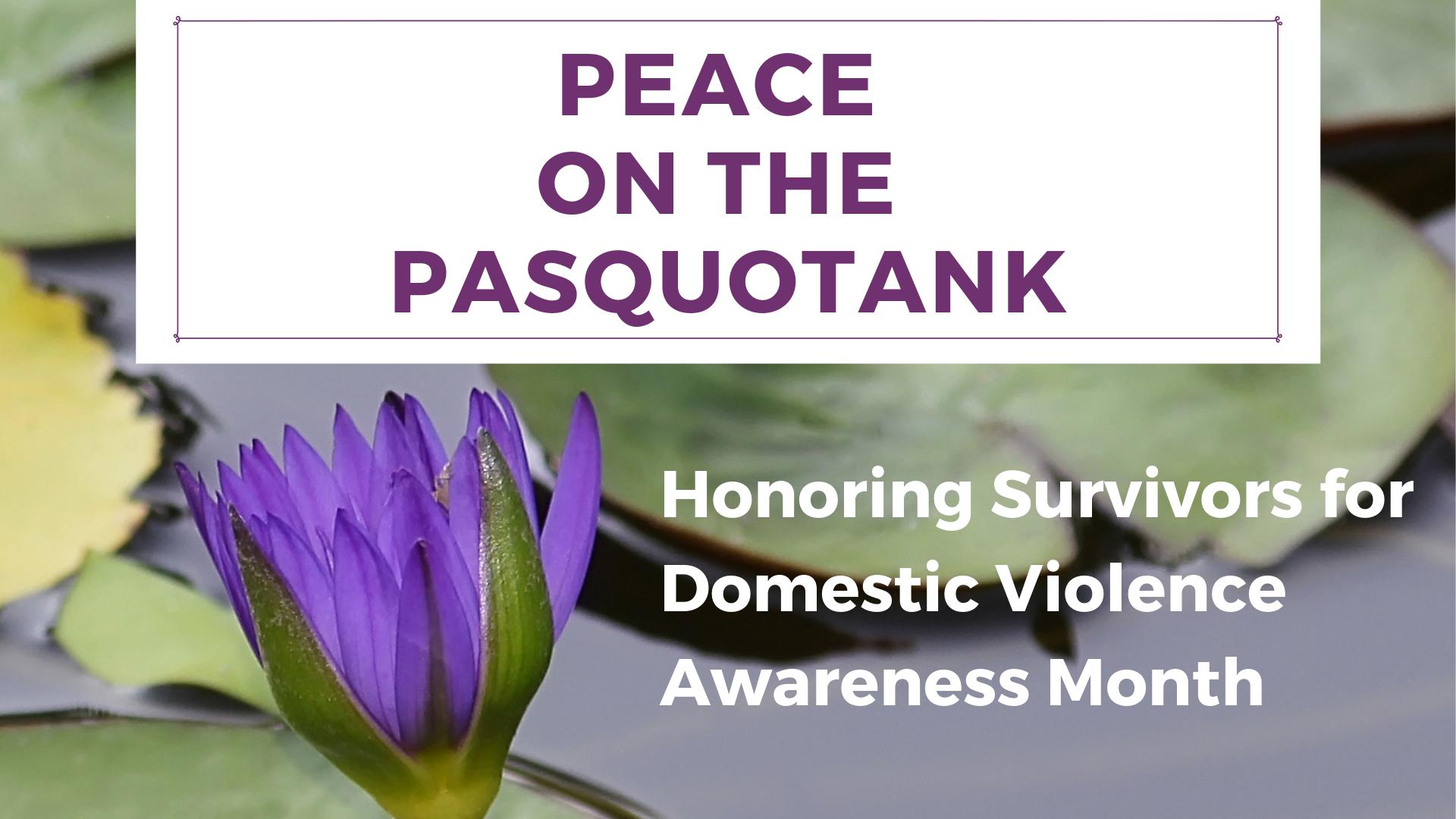 Peace on the Pasquotank