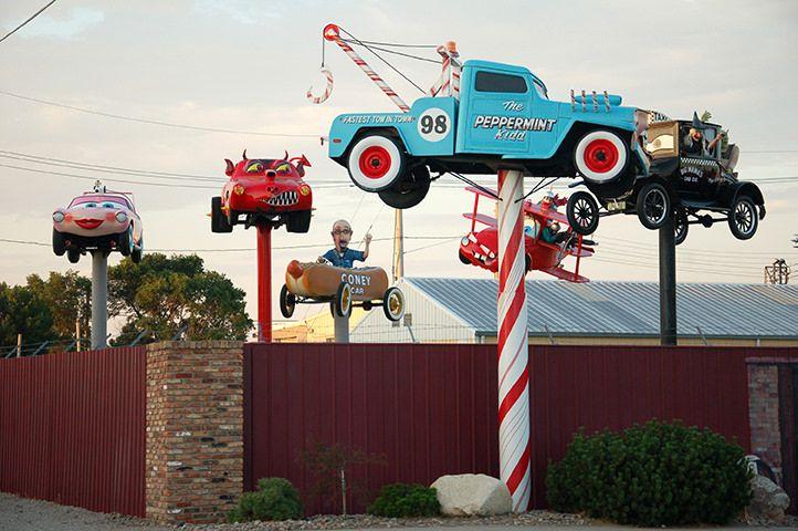 Automotive Sculptor Built Funny Cars