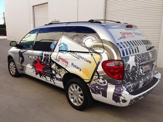 Orange County vehicle wraps and graphics