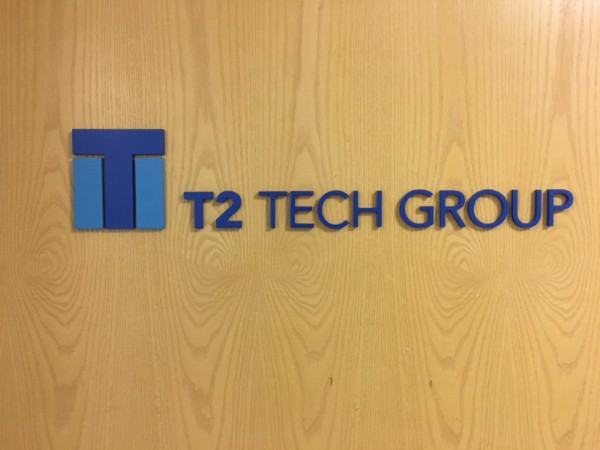 3D Logo Lobby Signs for Corporate Offices in Los Angeles County