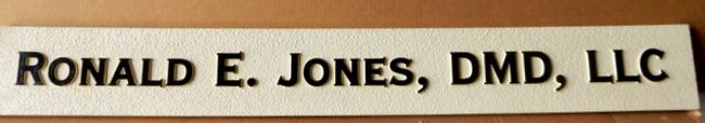 BA11656 - Nameplate Sign for Dentist DMD, Doctor of Dental Medicine and Corporation