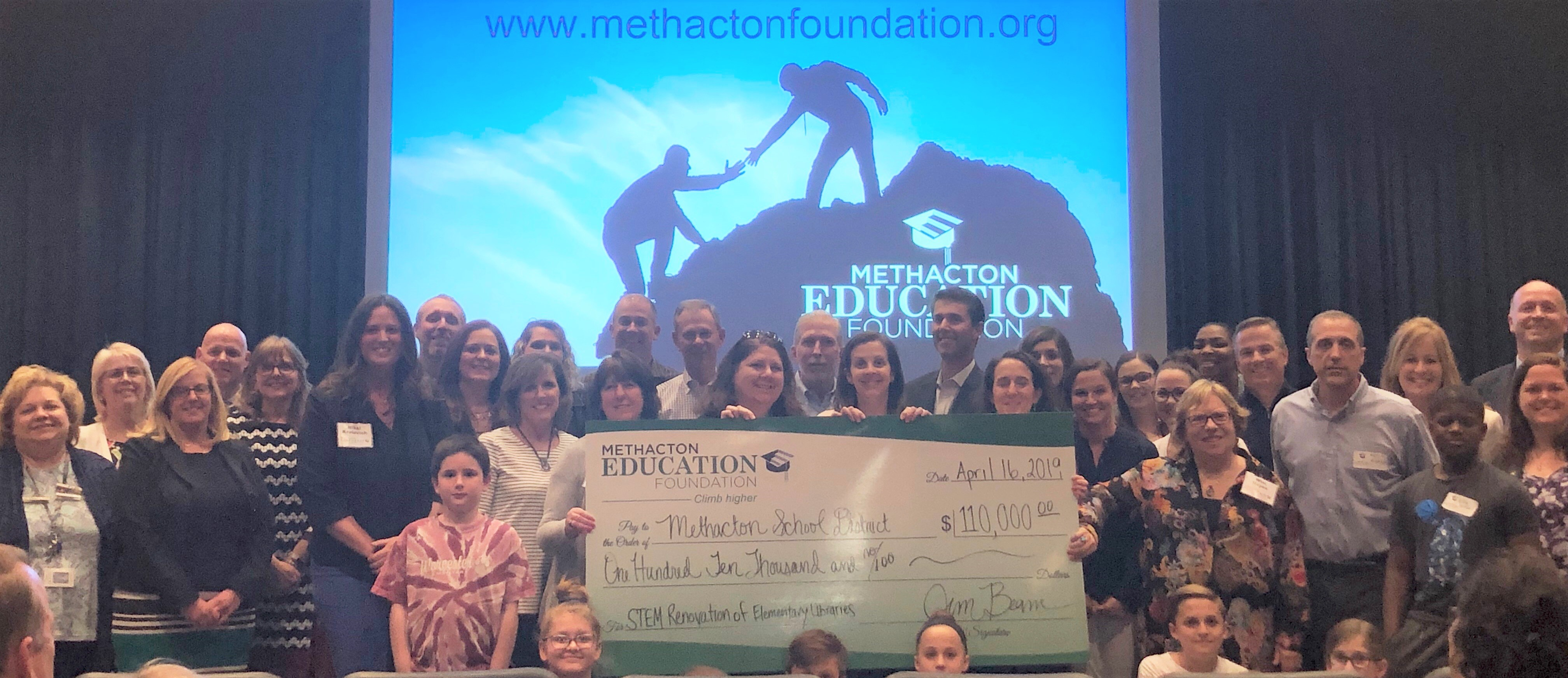 Foundation donates $110,000 for STEM in Methacton