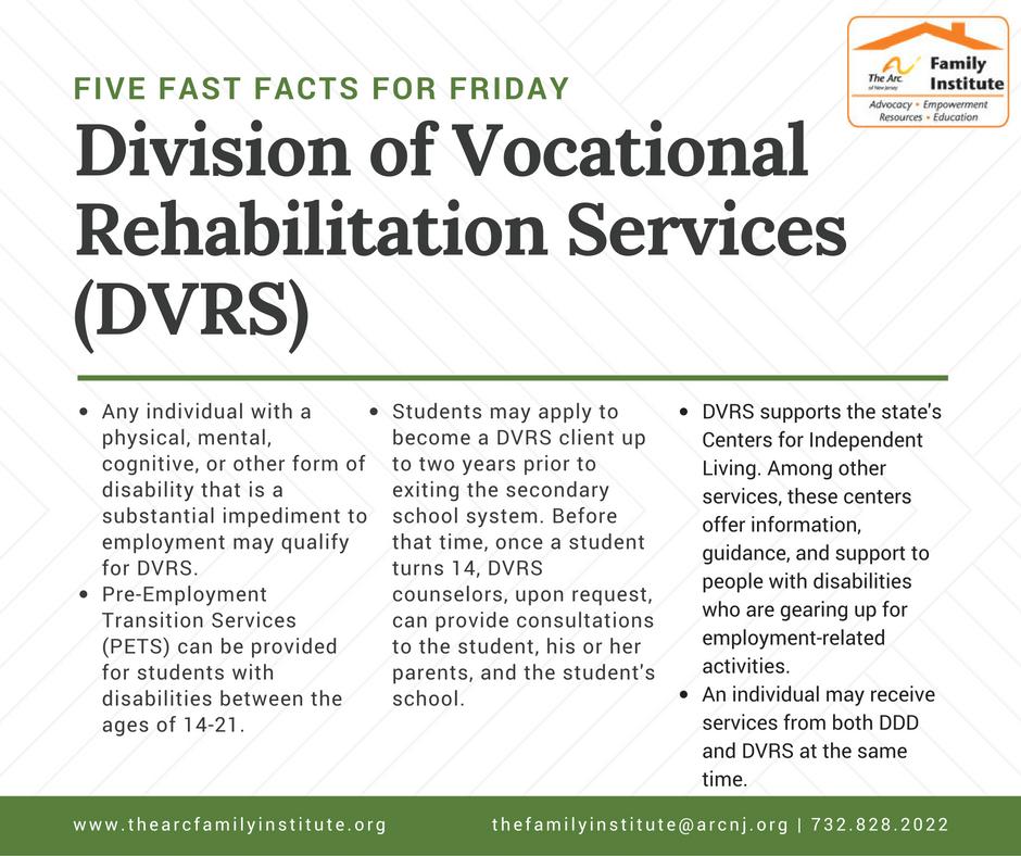 Division of Vocational Rehabilitation Services