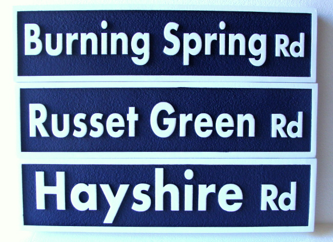 H17028 - High Density Urethane Address Signs