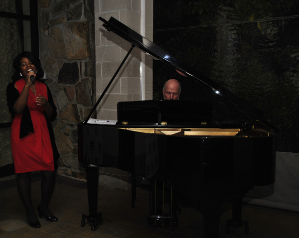 """""""Somewhere over the Rainbow"""" performed by Sheree M.C. Elder, accompanied by Arthur Pitts"""