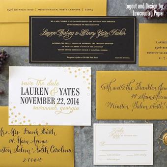wedding envelopes invitations programs printing