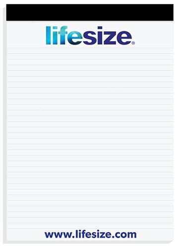 "03 - Note Pad 8.25"" x 11.75"" Full-Color Imprint"