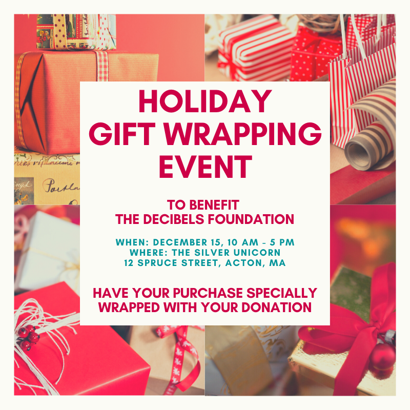 Gift Wrapping Event At Silver Unicorn Bookstore