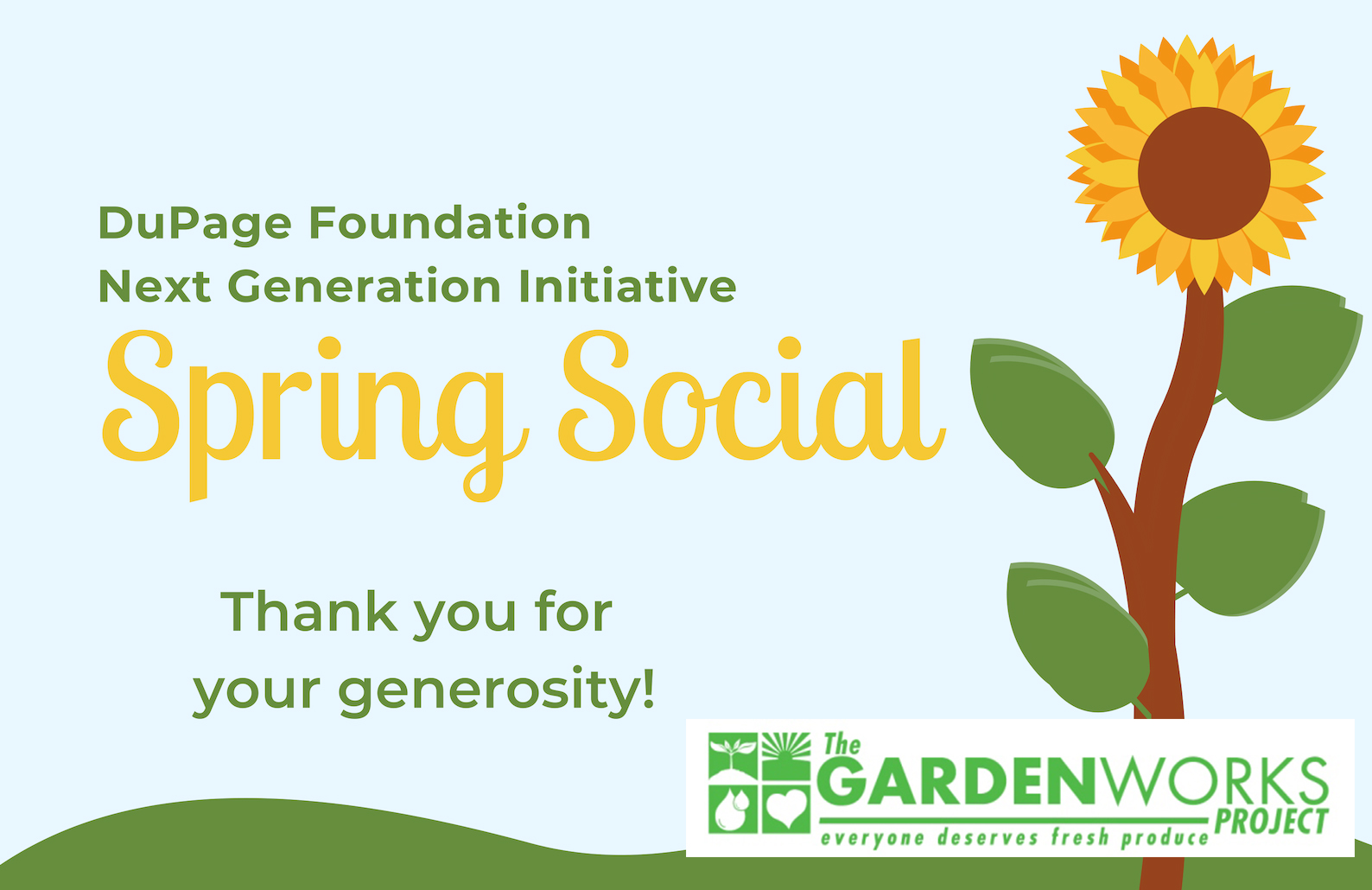 NGI Spring Social Grows Support for GardenWorks
