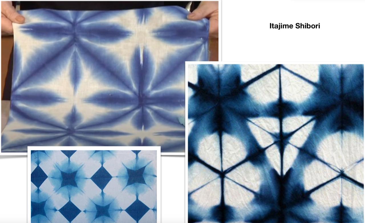 Shibori Dye Workshop - Itajime
