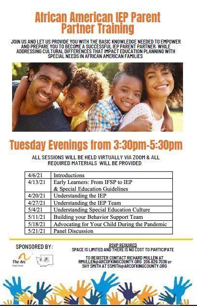 African American IEP Parent Partner Training - Understanding the IEP Team