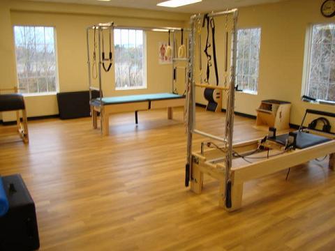 PTP Southport Pilates machine workout
