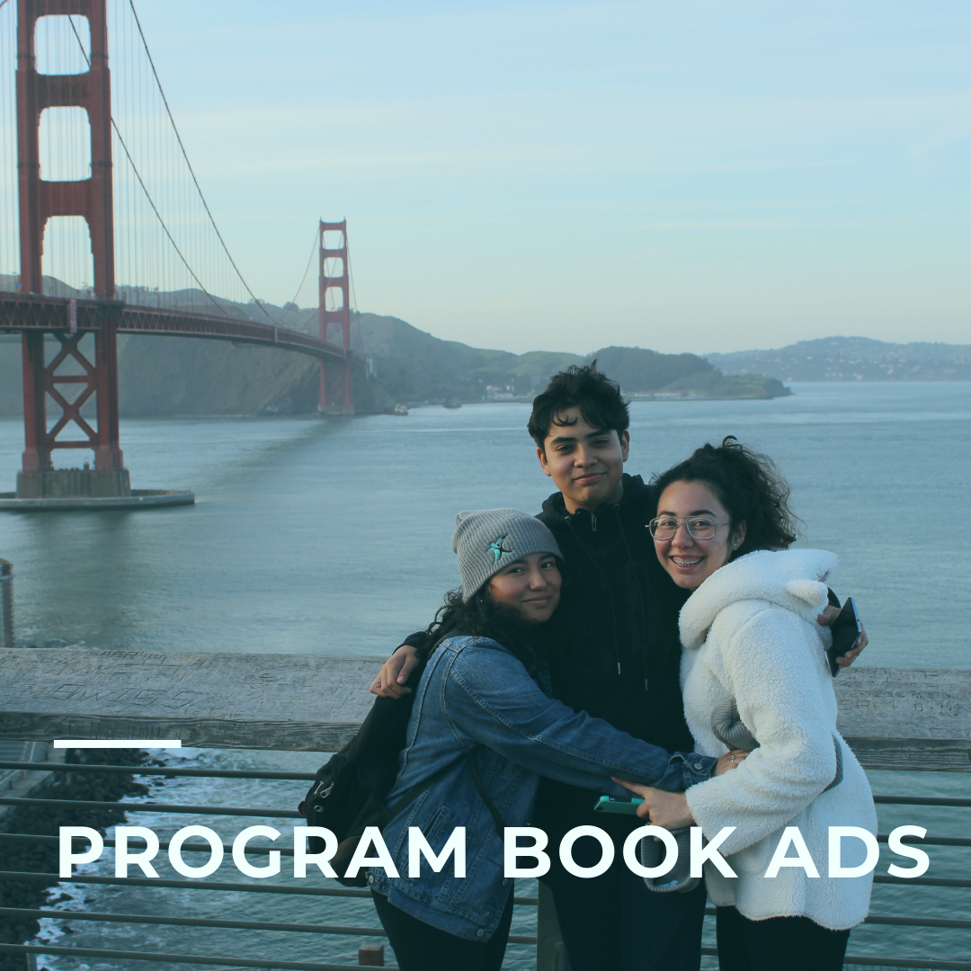 PLACE AN AD OR TRIBUTE IN OUR PROGRAM BOOK