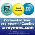 Personalize your M&M's