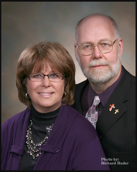 Rev. Mr. Craig and Mrs. Cathy Steel