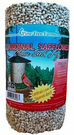 Cardinal Safflower Classic Seed Log