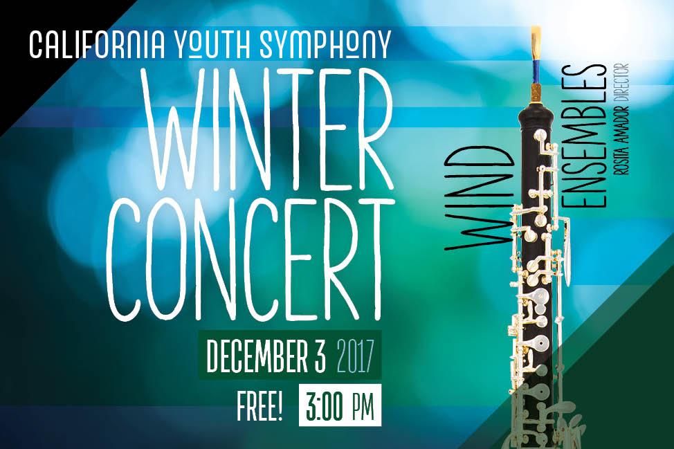 CYS - spotlight - 2017 winds winter concert