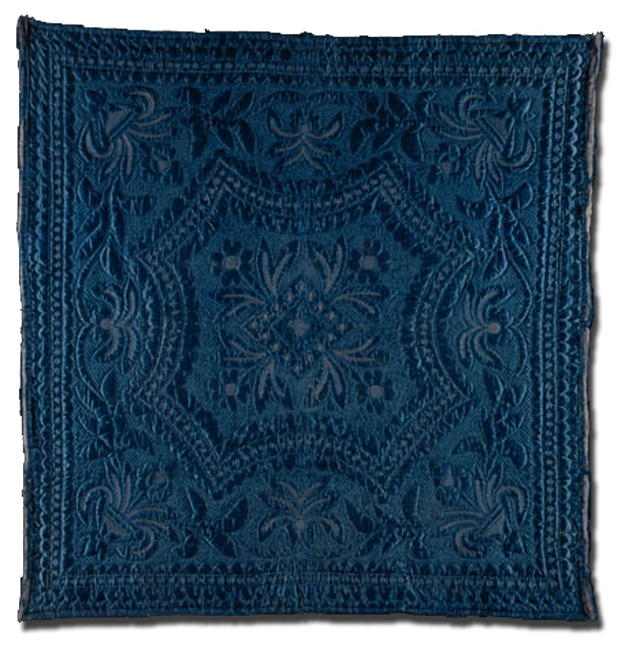 Nun's Quilt, made by four nuns in a Roman Catholic convent, made in Denhof, Germany, circa 1882, 82 x 80 in, NQP 3860
