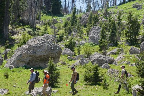 Continental Divide Trail Project in Wyoming
