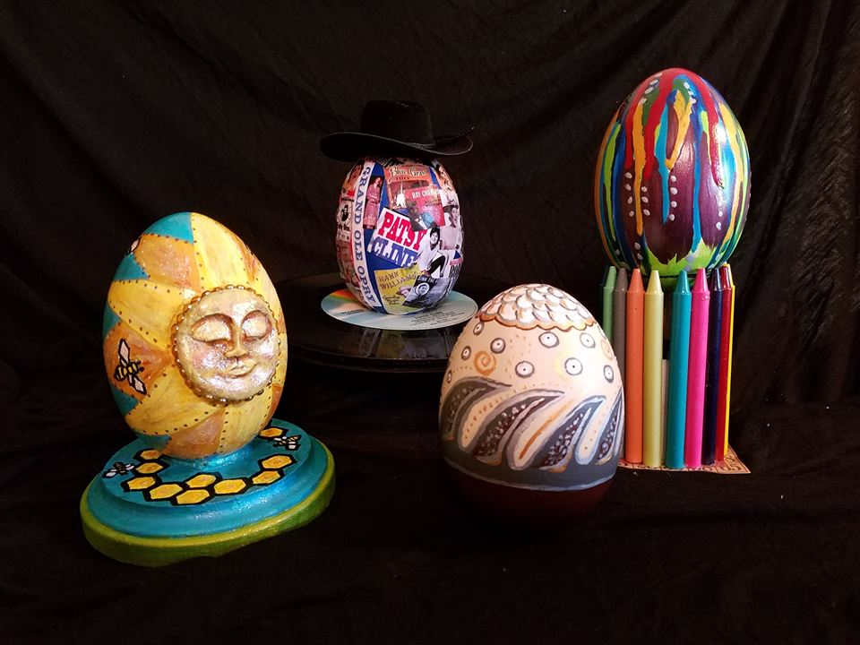 EGGS-ceptional Artists Support Denton High Cares!