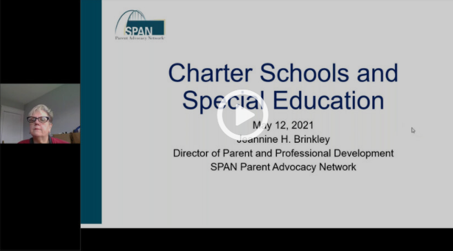 Special Education in Charter Schools