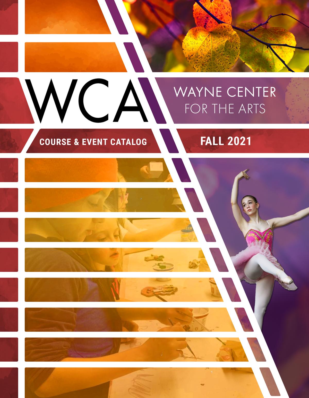 WCA 2021 Fall Course & Event Catalog