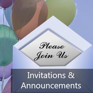 Invitations & Announcements