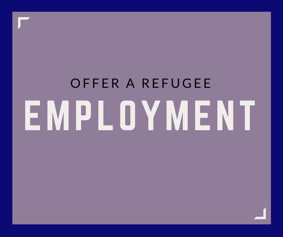 Become  a  Refugee  Employer
