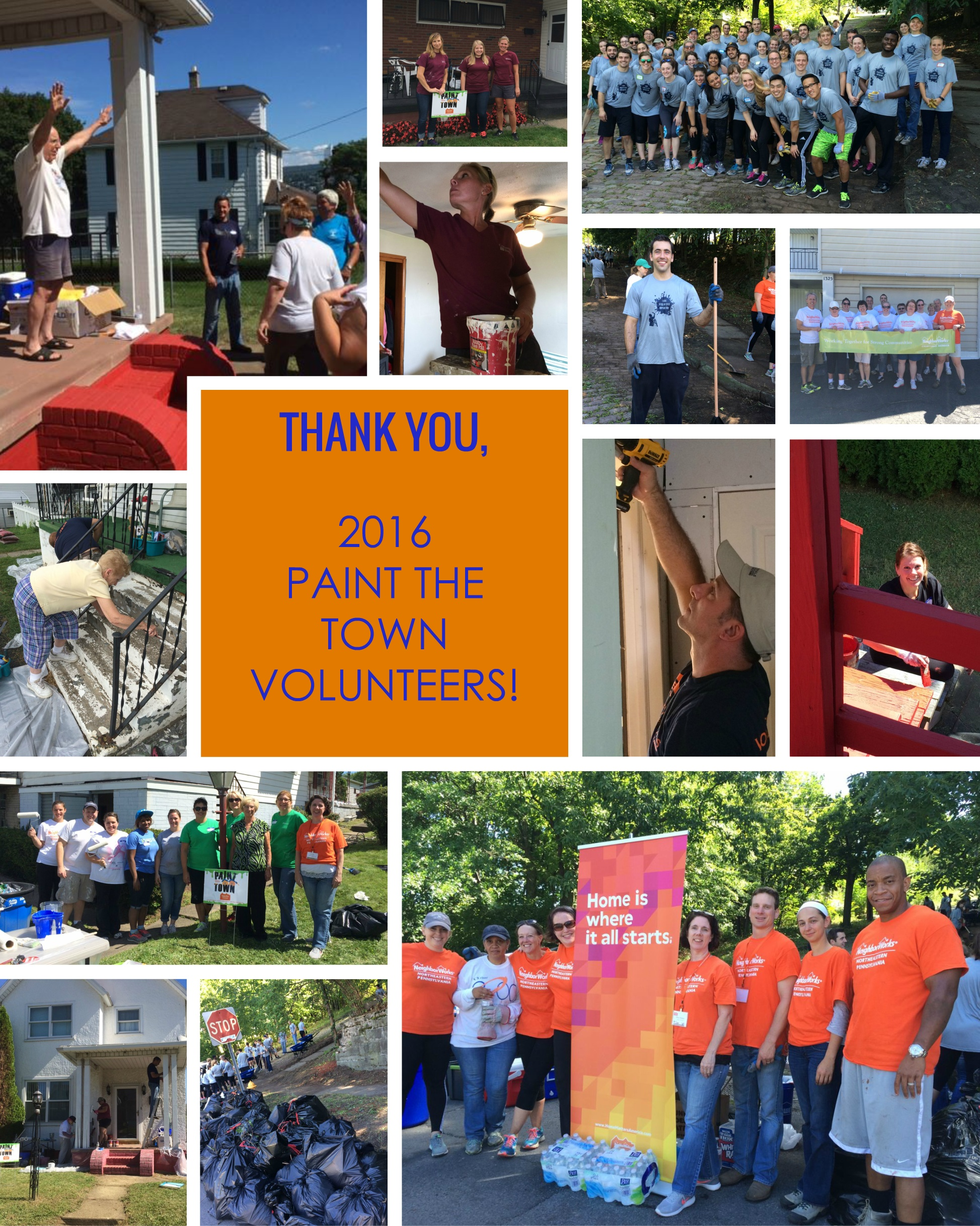 Paint The Town 2016 a neighborly community success