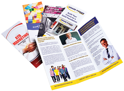Check out our recent blog: The Art of the Brochure