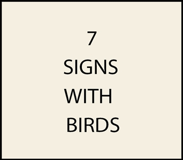 7. - I18500 -House Address Signs with Carved Hand-Painted Birds (Song birds, Eagles, Shore Birds)