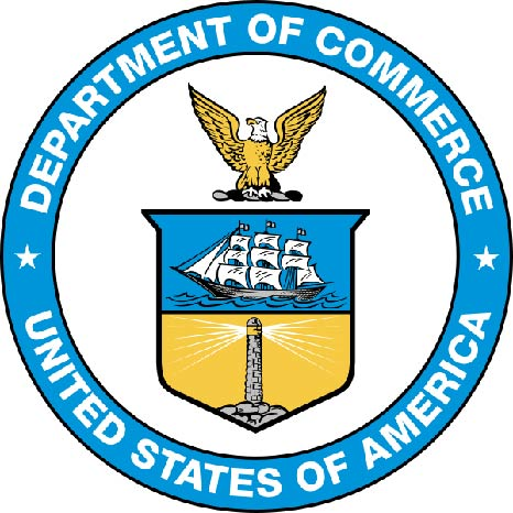 U30200 - Department of Commerce Carved 3-D Wall Plaque