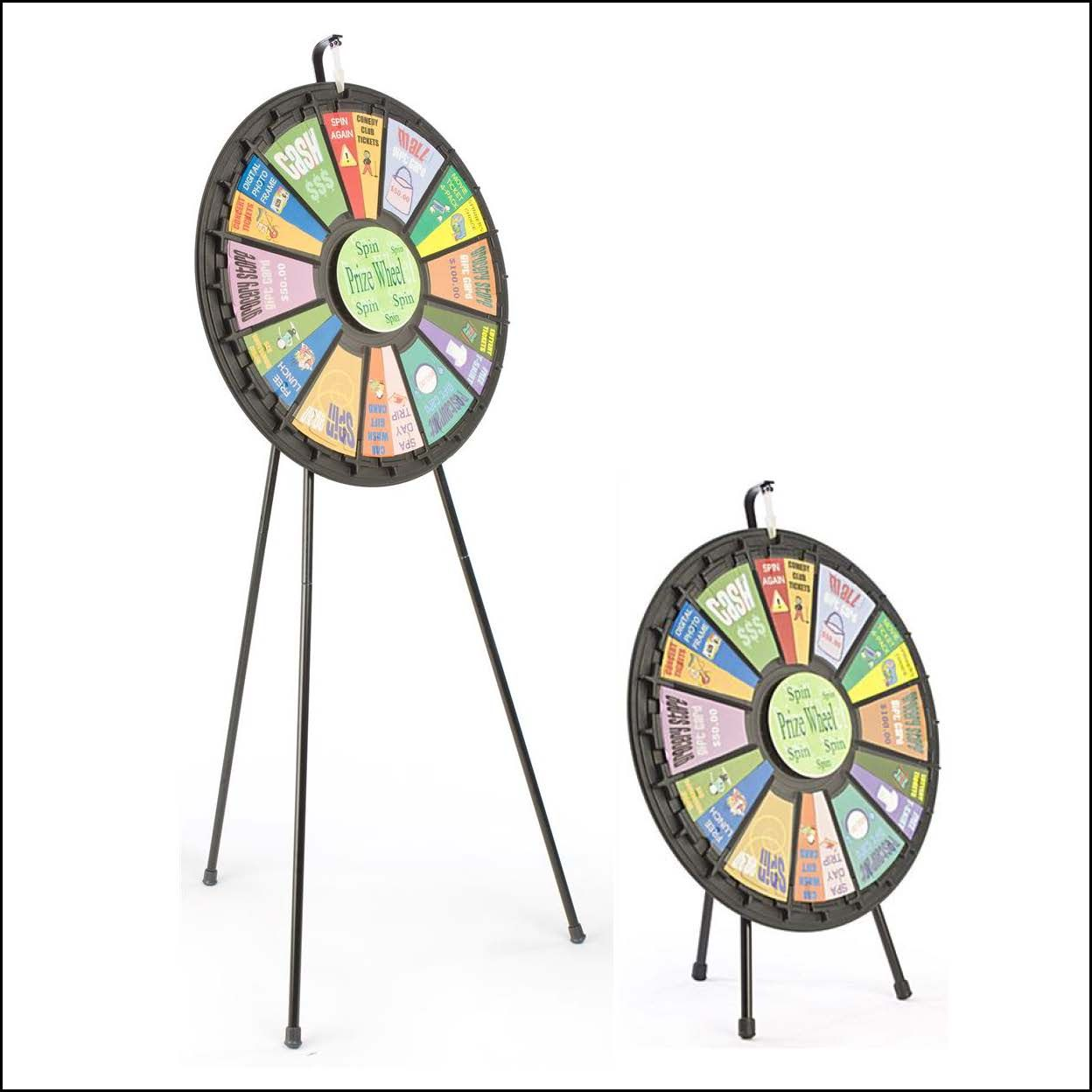 12-24 Slot Prize Wheel