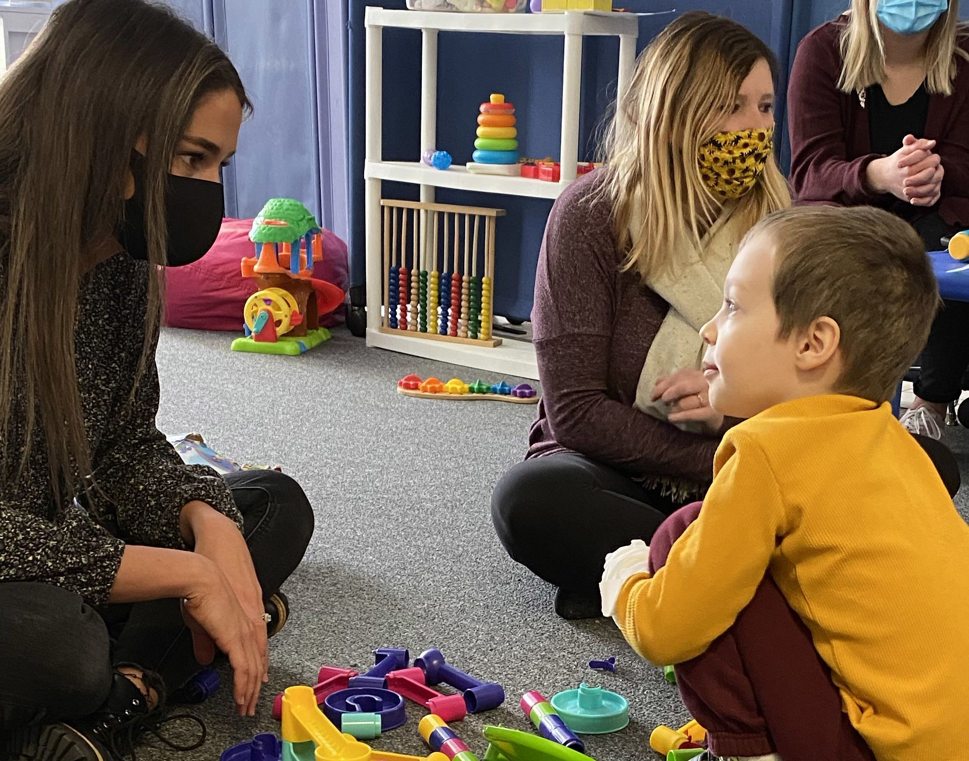 One Vision's Children's Autism Center continues to provide therapy during covid, Spring 2021