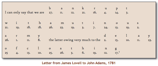 1737: Birthday of James Lovell