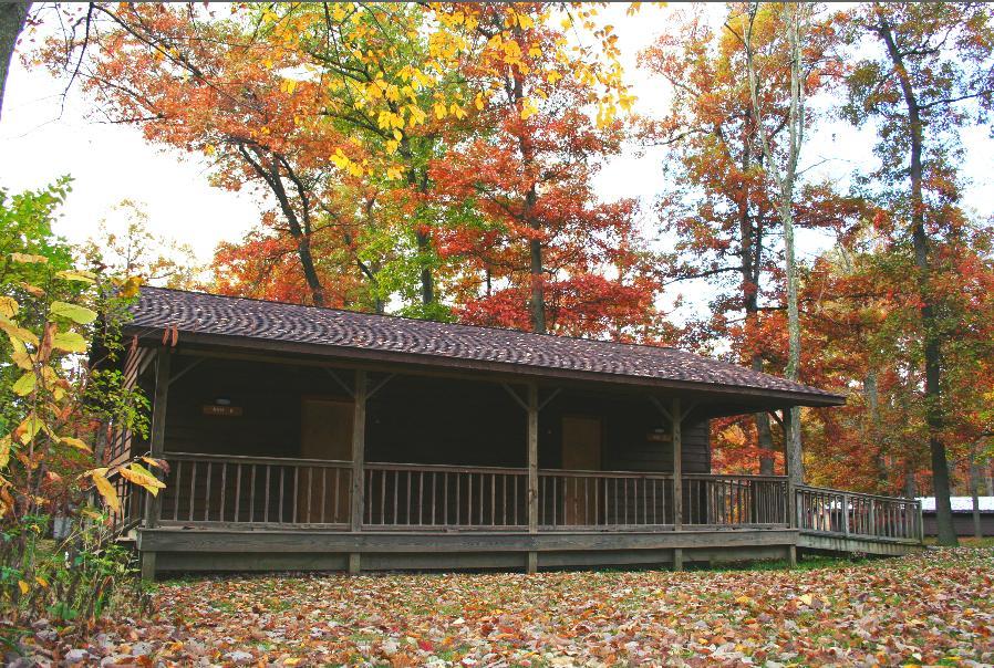 Cabin Ash Fall