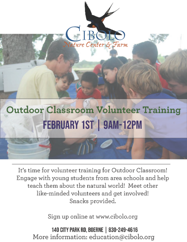 CNC: Outdoor Classroom Training