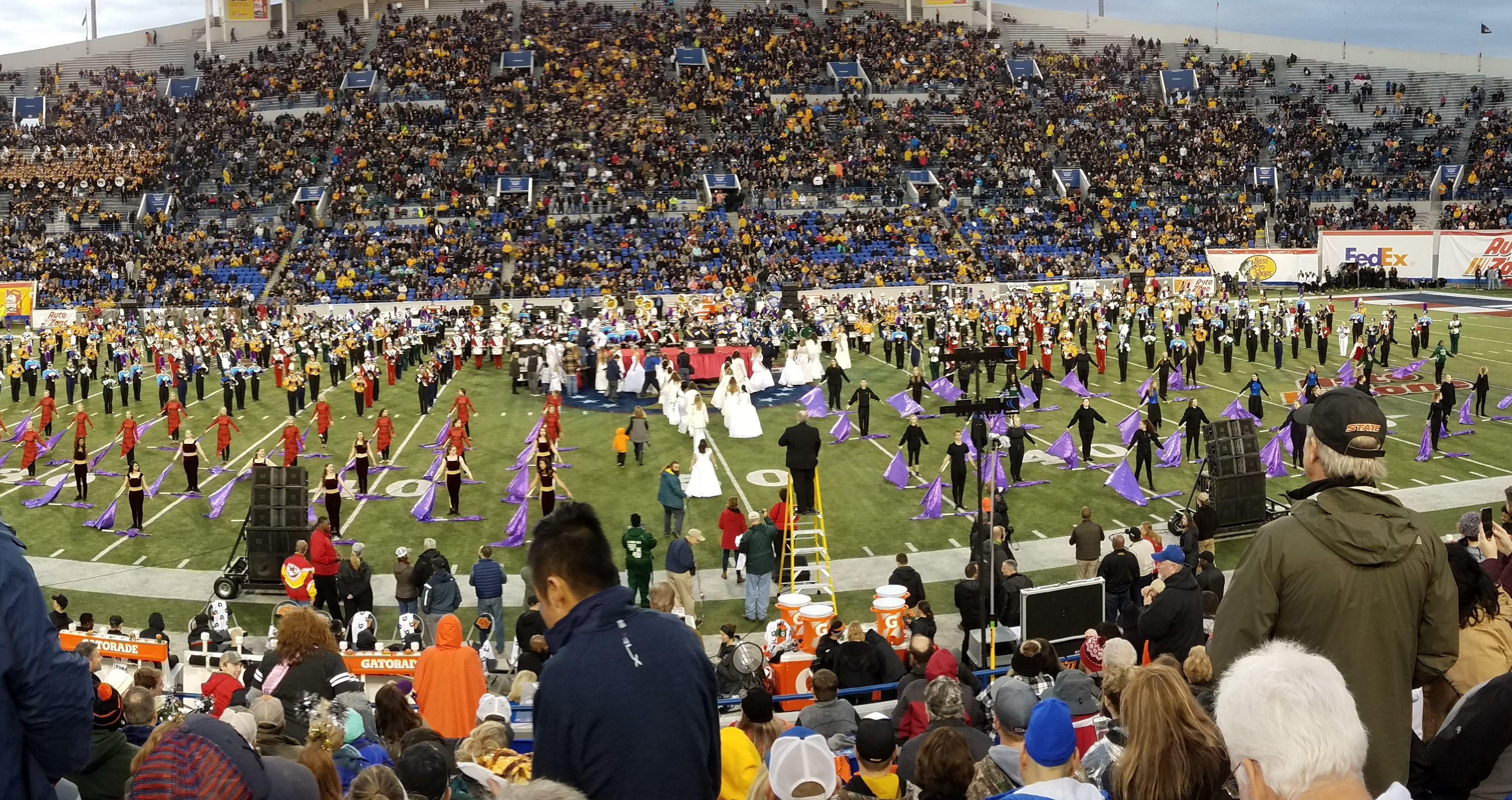 Marching Band Brings Methacton Pride to Liberty Bowl