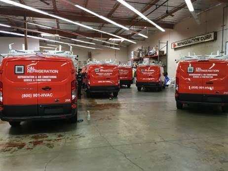 Fleet graphics programs for Orange County CA