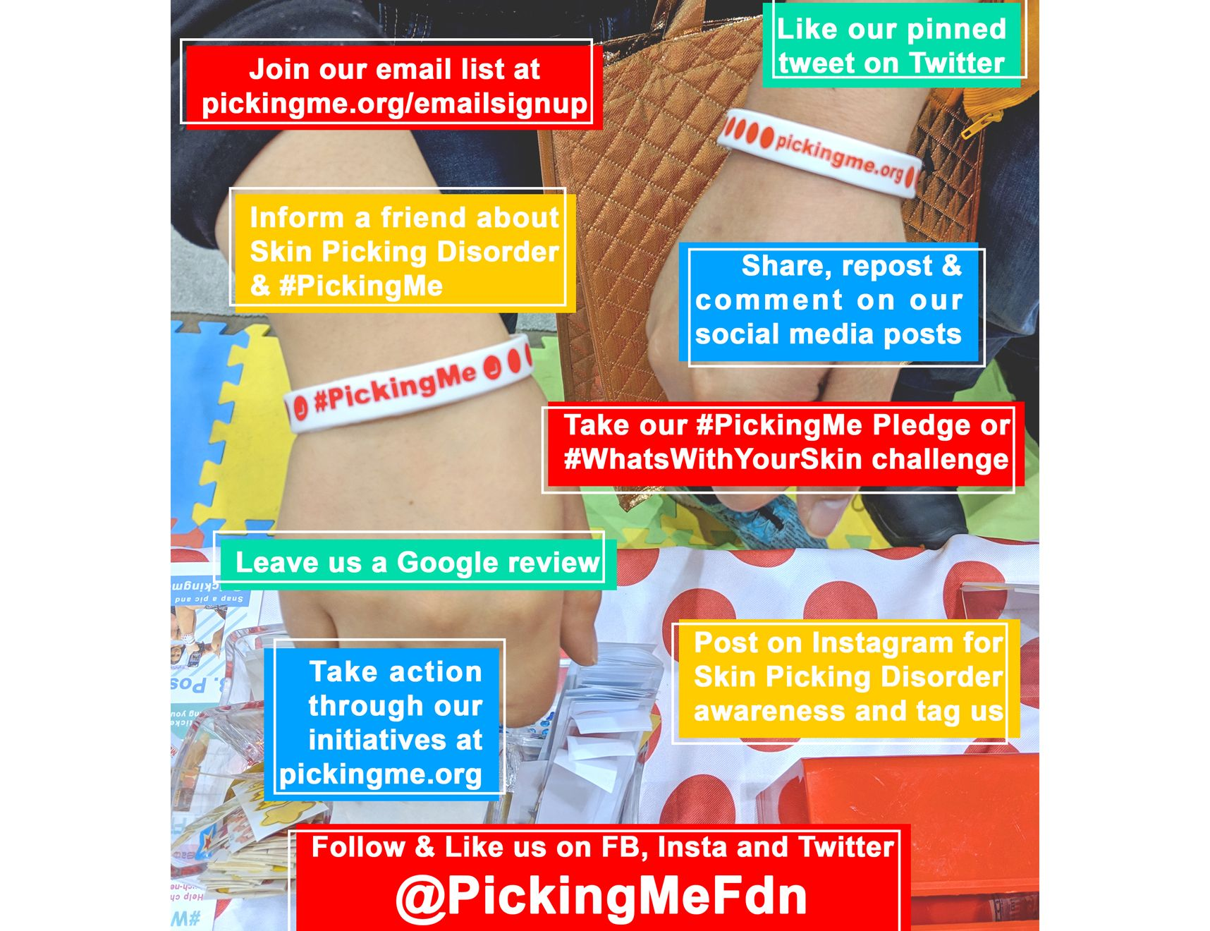 Ways to Help #PickingMe for Free!