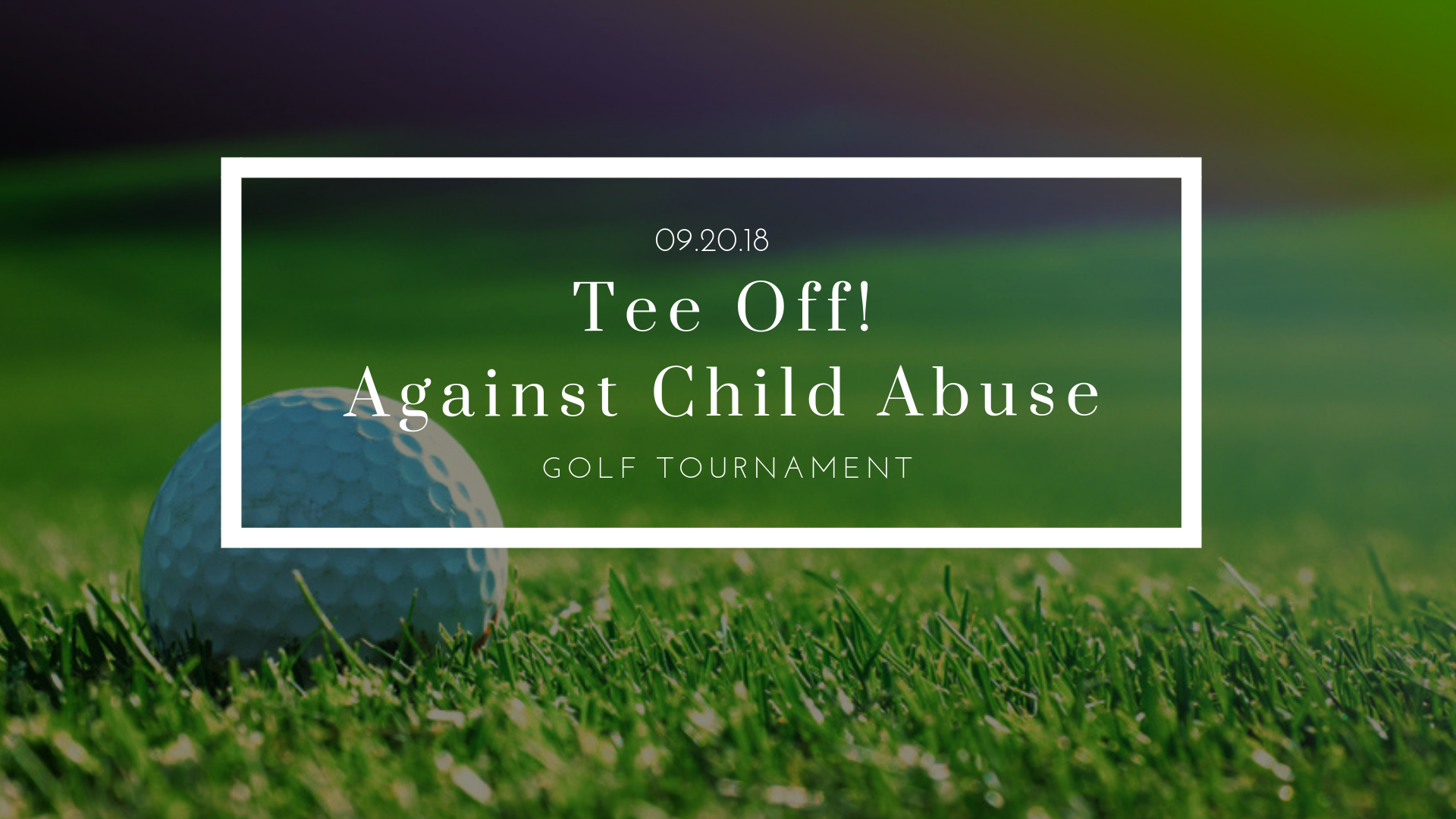 Tee Off! Against Child Abuse