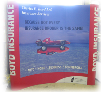 Boyd Insurance Tradeshow Booth